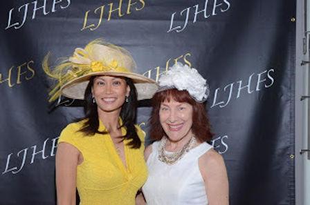 Professor Cavagnaro with Friend at La Jolla hat show