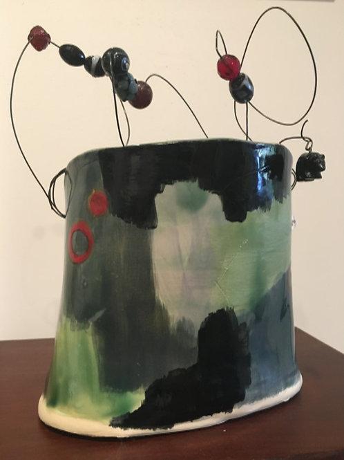 Art Pottery by Corey Robinson  #2419