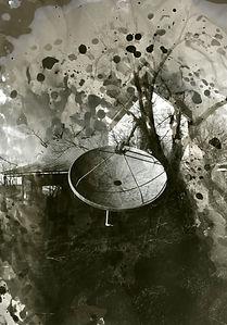 Chris Otten_Satellite Dish_Inkjet Print_