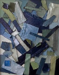 Blue Denim Series 20 x 24 Oil