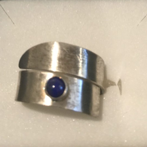 Sterling and Lapis Art Jewelry by Terry Mullen #2392