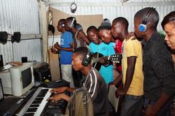 RAP Hope - shack recording studio - 2