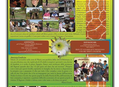 Lourdes Mission, Newsletter #2 - ita