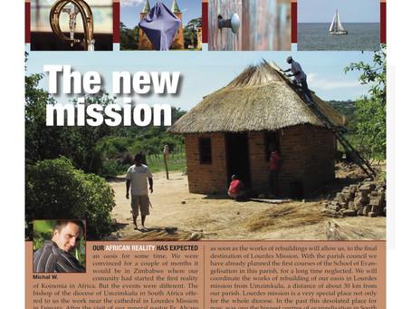 Lourdes Mission, Newsletter #5