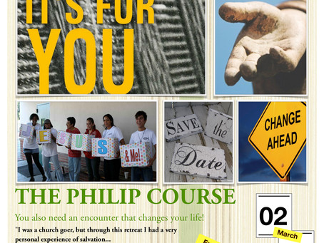 Coming soon: The Philip course