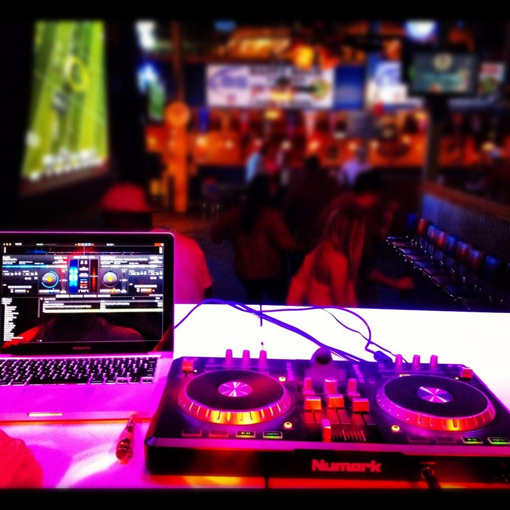 DJing and Grubs