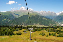 Cable Car Ride to Hatsvali
