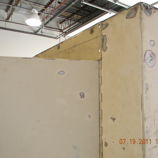 Sound enclosure repairs 1.JPG