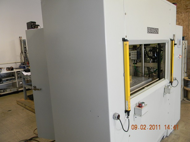 Machine complete, front left view.JPG
