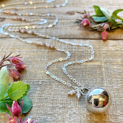 -HAPPY PREGNANCY- Harmony Ball Necklace