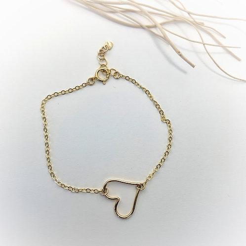 -OPEN HEART- Bracelet