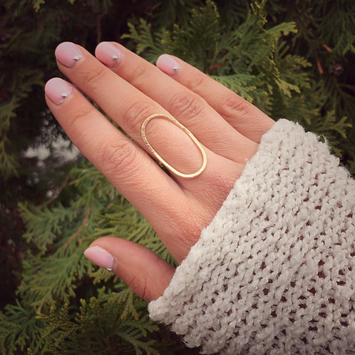 -ANDA- Oval Ring