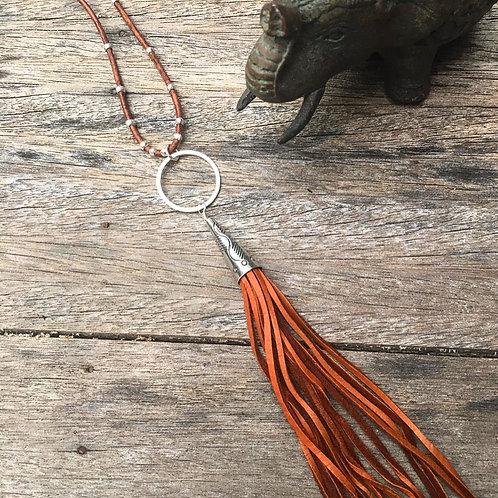 -AHMAN- Tassel Necklace
