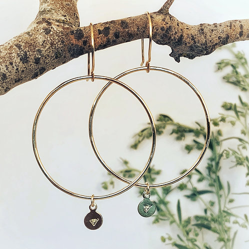 -DEVI-Goddess Hoops