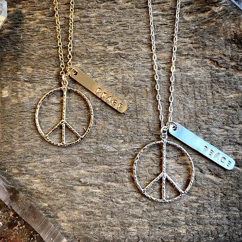 -PEACE- Necklace