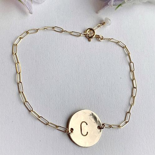 -ASMI- Initial Bracelet