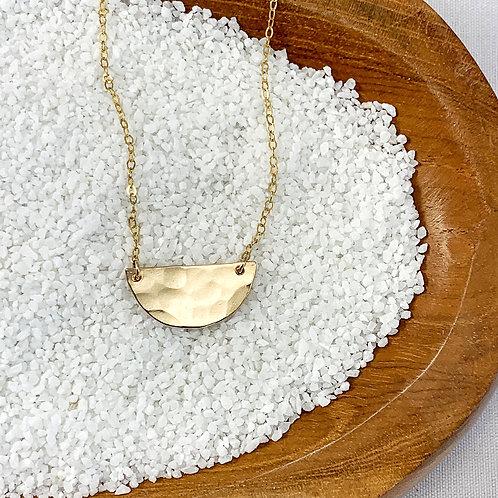 -HALF MOON- Necklace