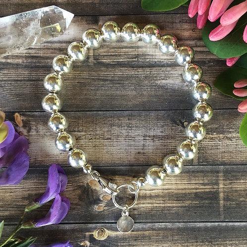 Sterling Beaded Bracelet