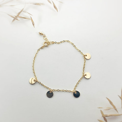 -NEYSA- Mini Disc Bracelet