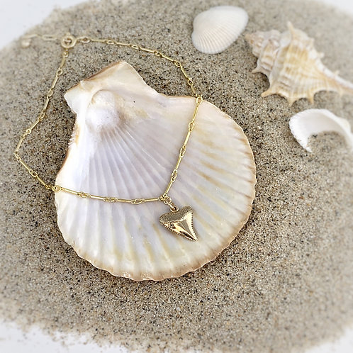 -SHARK TOOTH- Anklet