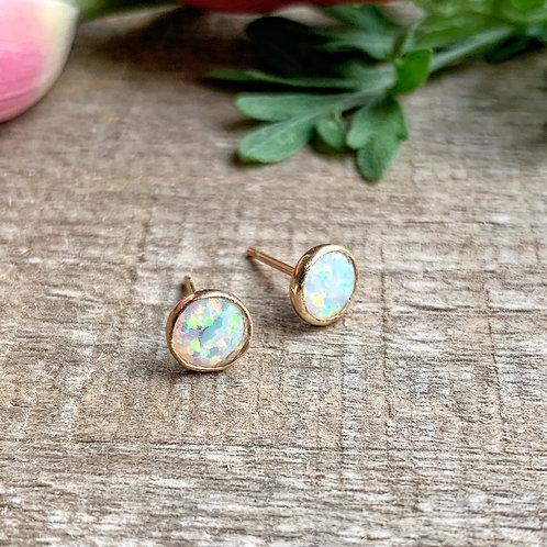 -GOOD KARMA- Opal Studs