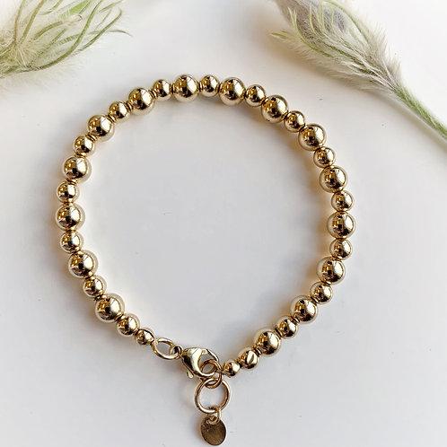 -AJU- 5/6mm Beaded Bracelet