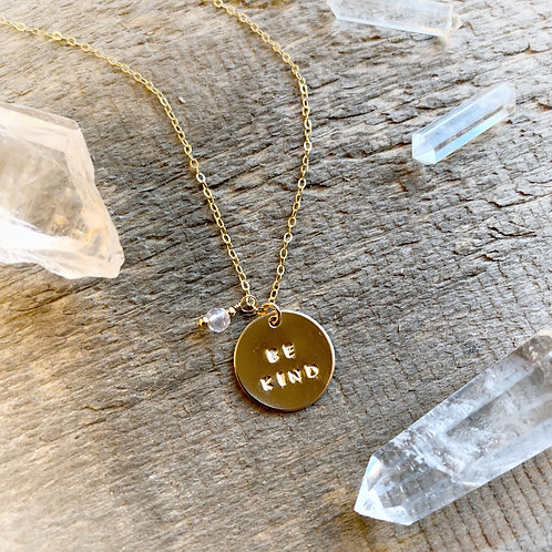 -BE KIND- Necklace
