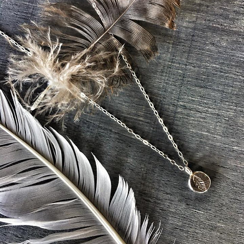 -FEATHER- Necklace