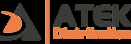 ATEK Distribution - orange and charcoal