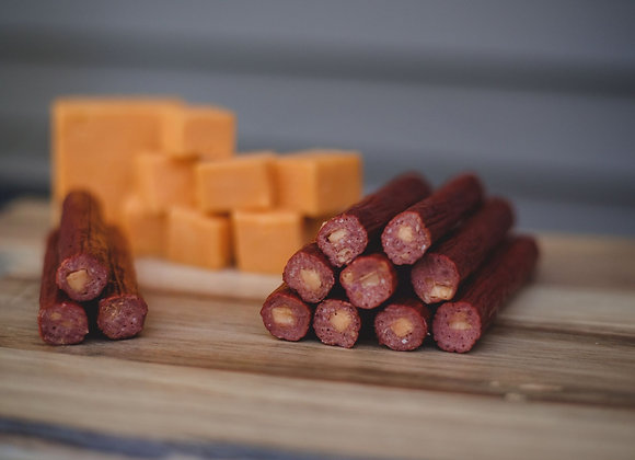 Beef Cheddar Cheese Snack Sticks
