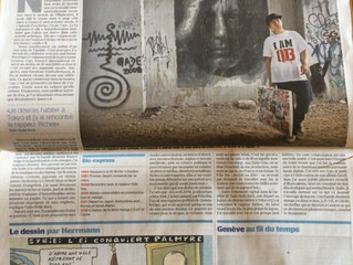 """Tribune de Genève: """"La vie un crayon à la main"""""""