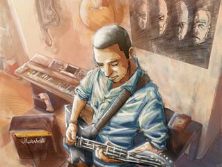 "Art commission ""Music is Sacred"""