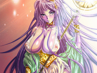 "【Ecchi//Fanart】""Killa Queens III"" (Athena of Saint Seiya)"