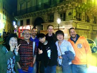 With Yoko Shimomura, Nobuo Uematsu, Yasunori Mitsuda