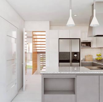 Sala y Cocina - Casa