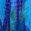Thumbnail: 703 Blue & Turquoise W/Purple Cotton Gauze Dress