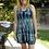 Thumbnail: D 069 V Neck Black Bamboo Tank Dress XL 2X 3X