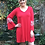 Thumbnail: D 122 Boho Hippie & Red Stitch Dress SALE XL 2X 3X