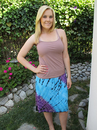 S 617 Turquoise Bathing Suit Cover Up & Skirt