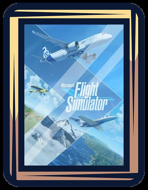 MICROSOFT FLIGHT SIMULATOR 2020 Premium Deluxe Bundle PC