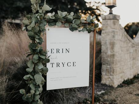 Modern Copper Wedding Stands