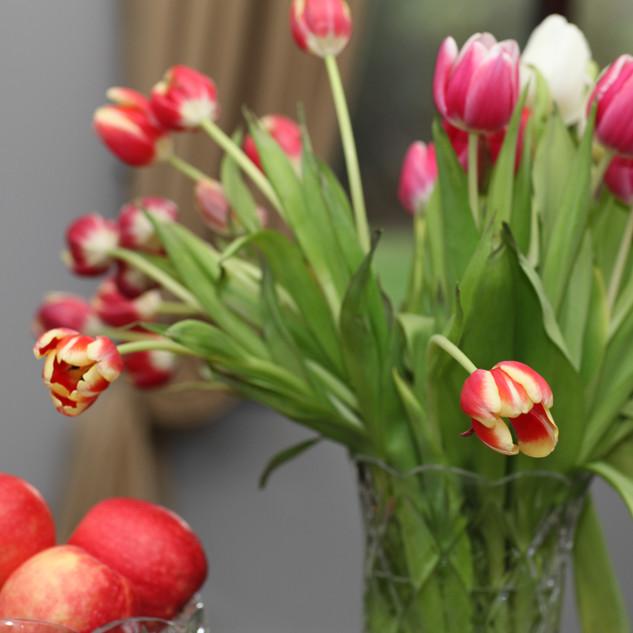 Fresh Flowers in Lobby