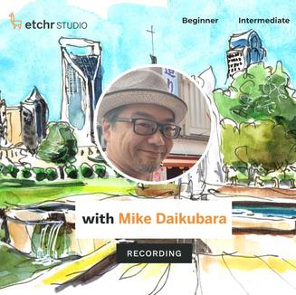 Etchr Online Urban Sketching Workshop