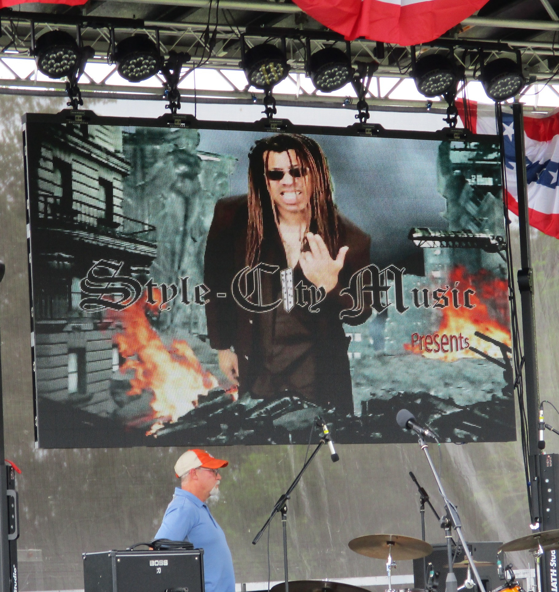 VIDEO -  6' x 10'wall (OUTDOOR EVENT)