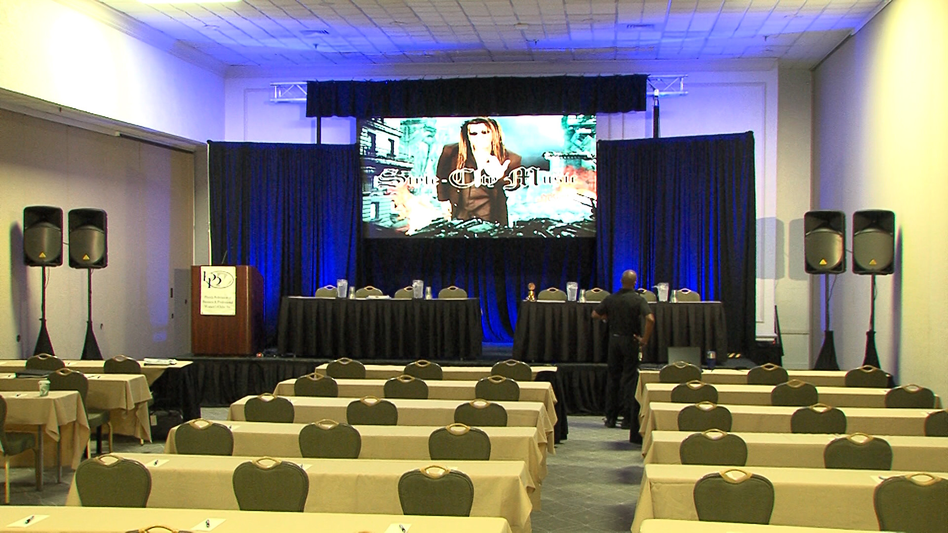 Corporate Event Audio Visual Services