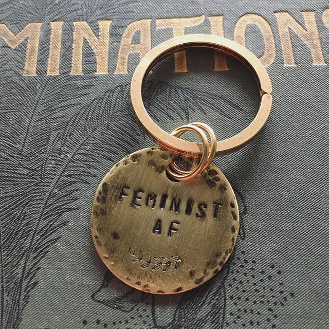 #etsy #etsyfinds #etsyseller #etsyshop #etsyjewelry #feminist #femaleentrepreneur #feminism #metalst