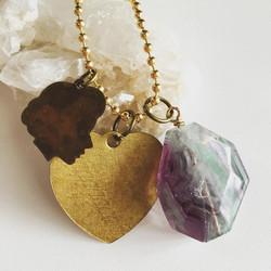 PrettywarDesigns Vintage Charm necklace