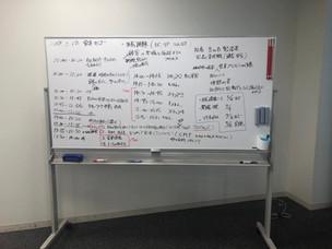 一般社団法人日本能率協会での研修打合せ