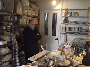 Robin Dauncey in his workshop