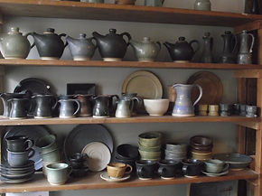Robin Dauncey's pottery